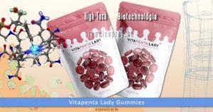 Vitapenta Lady multivitaminos gumicukor nők számára